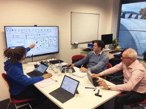 THEMIS Software Schulung des Vertriebspartner