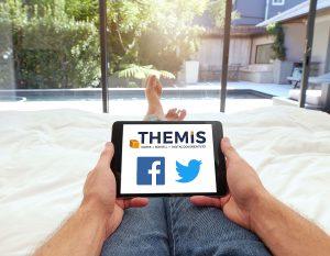 THEMIS teilt gerne - auf Facebook und Twitter