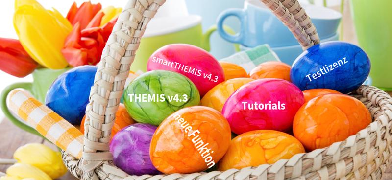 Osternest mit THEMIS Eiern